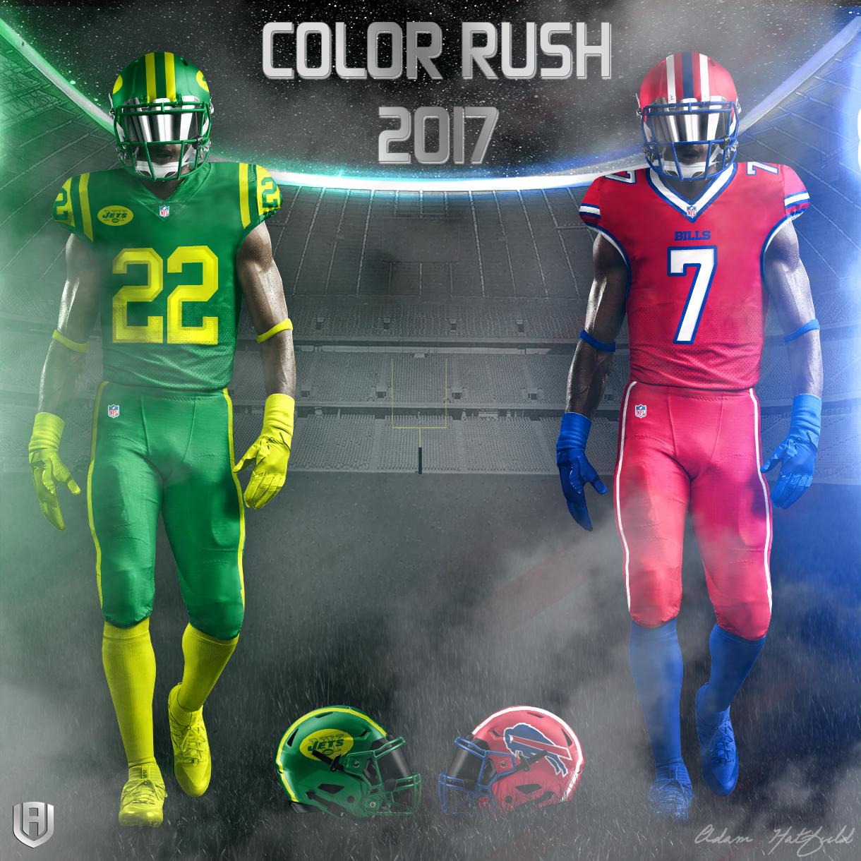 Creative Department: NFL Color Rush 2017 Concepts » Avála ...